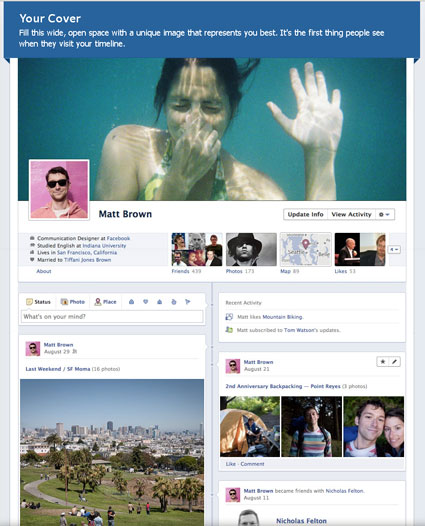 Brand your Business with Facebook Timeline